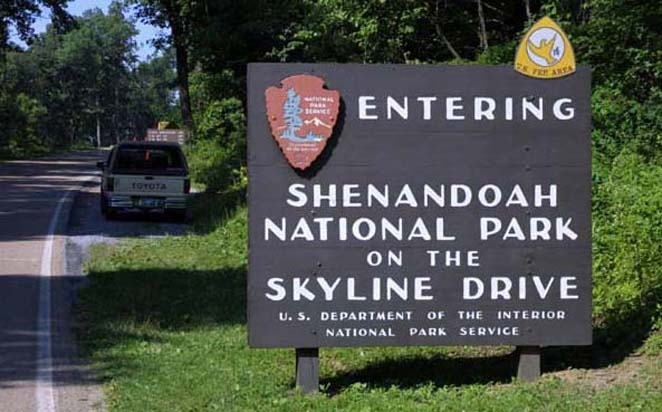 Nearby: Shenandoah National Park, only minutes away.