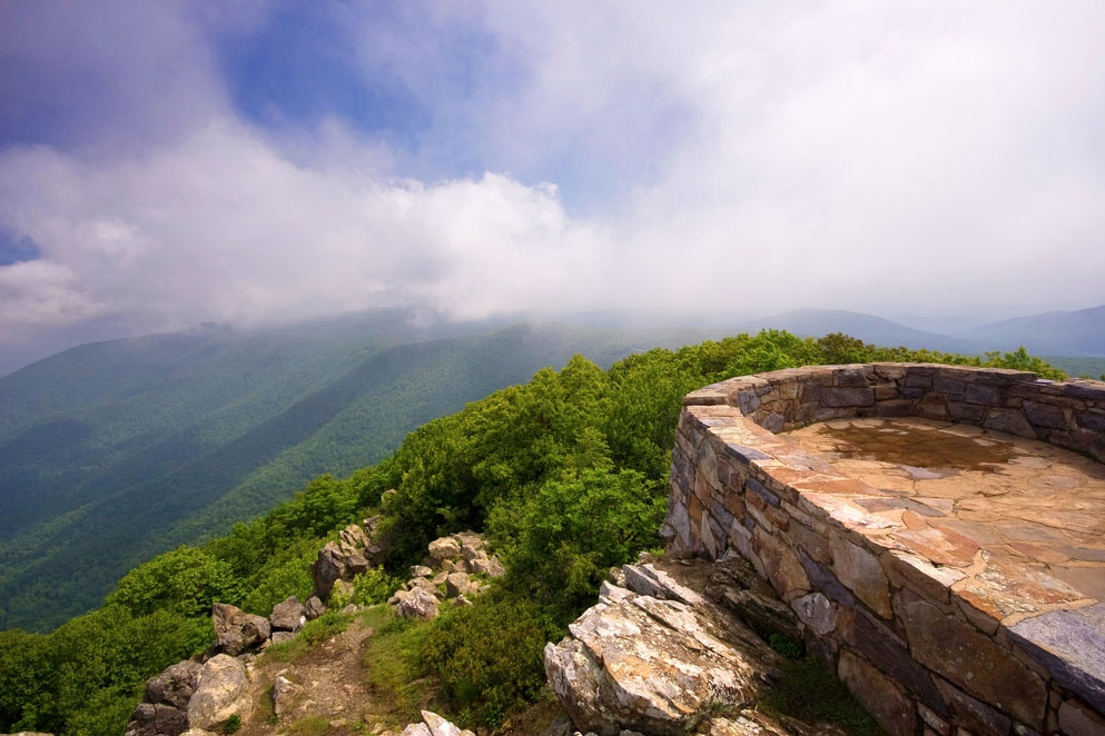 Nearby: Shenandoah National Park, Hawksbill Summit hike.